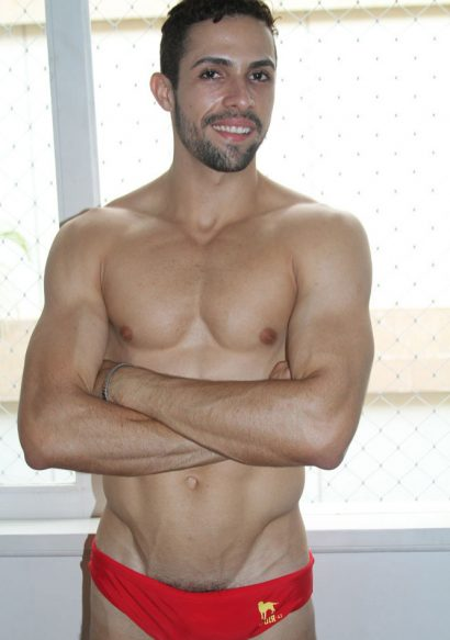 Hot Brazilian Matheus Wilhans soloing his erotic cock!